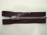 Νο. 4 open end nickel metal zipper
