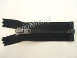 Νο. 4 open end black nickel metal zipper