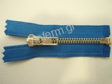 Νο. 5 open end brass metal zipper