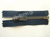 Νο. 5 open end antique brass metal zipper